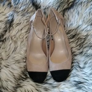 Lord & Taylor Two Toned and Block Heels Size 7.5